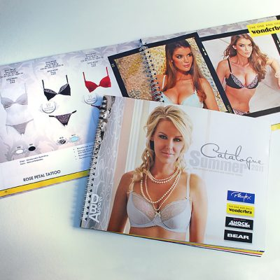 fishNET advertising Portfolio - Advertising & Design - DBA Apparel (Playtex, Wonderbra, Shock Absorber, BEAR)