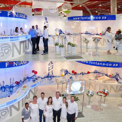 fishNET advertising Portfolio - In-store, Expos & 3D - Fontana