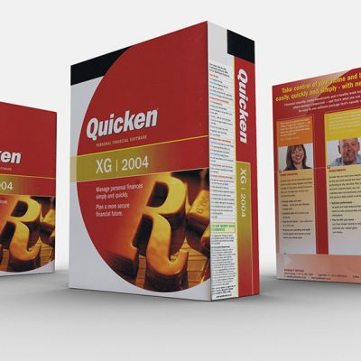 fishNET advertising Portfolio - Advertising & Design - Quicken Software