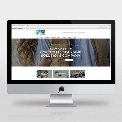 fishNET advertising Portfolio - Website Development - 2nd Storey Corporate Solutions