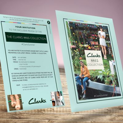 fishNET advertising Portfolio - Digital Media - Clarks