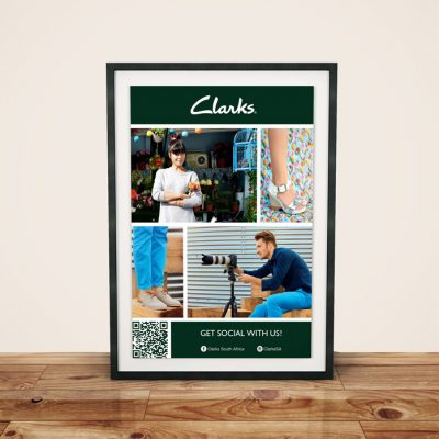 fishNET advertising Portfolio - Advertising & Design - Clarks