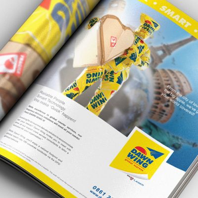 fishNET advertising Portfolio - Advertising & Design - Dawn Wing