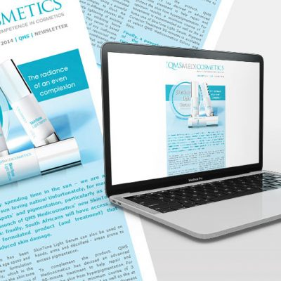 fishNET advertising Portfolio - Digital Media - QMS Medicosmetics