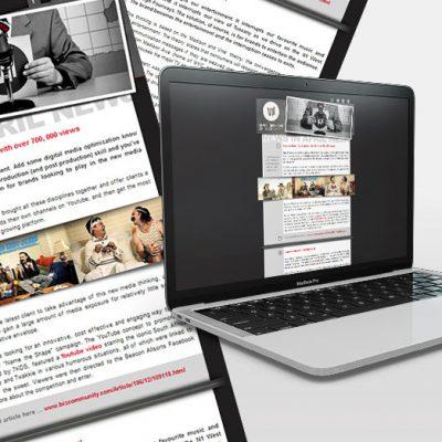 fishNET advertising Portfolio - Digital Media - Seven Different kinds of Smoke