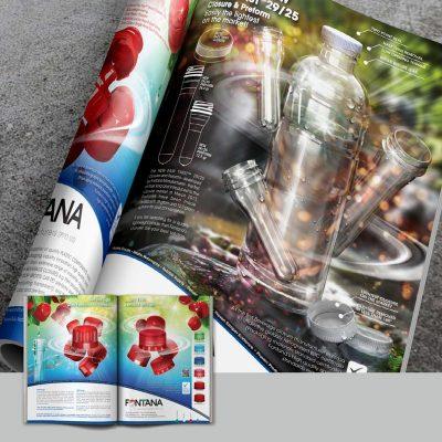 fishNET advertising Portfolio - Advertising & Design - Fontana