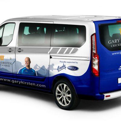 fishNET advertising Portfolio - Advertising & Design - Gary Kirsten Cricket