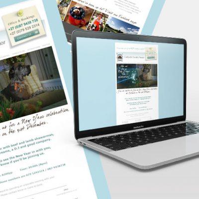 fishNET advertising Portfolio - Digital Media - Oaklands Country Manor