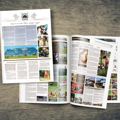 fishNET advertising Portfolio - Advertising & Design - Oaklands Country Manor