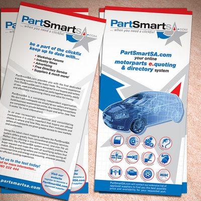 fishNET advertising Portfolio - Advertising & Design - PartSmartSA