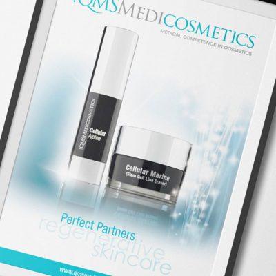 fishNET advertising Portfolio - Advertising & Design - QMS Medicosmetics