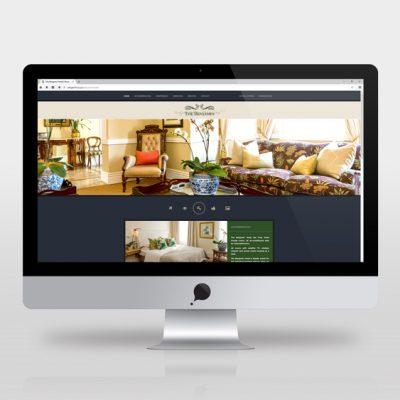 fishNET advertising Portfolio - Website Development - Benjamin Hotel