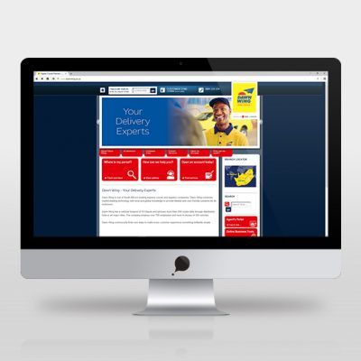 fishNET advertising Portfolio - Website Development - Dawn Wing