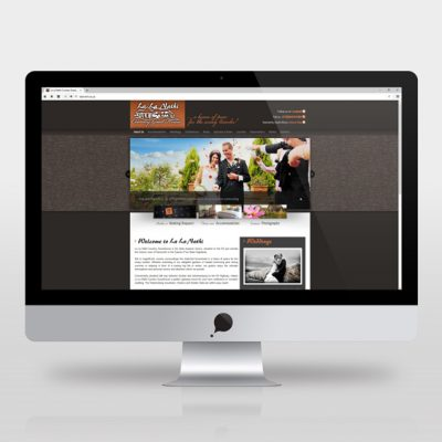 fishNET advertising Portfolio - Website Development - La La Nathi
