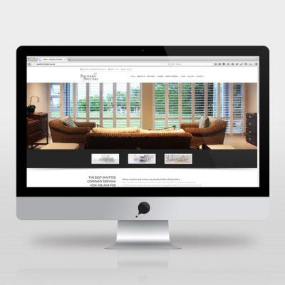 fishNET advertising Portfolio - Website Development - Southern Shutters