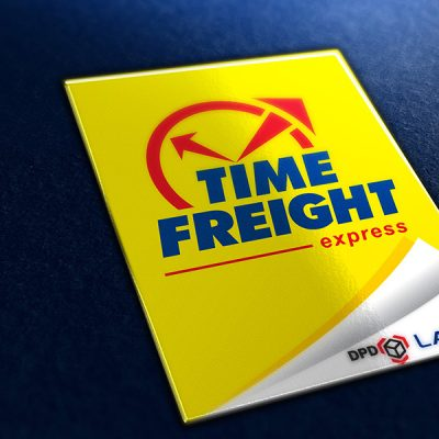 fishNET advertising Portfolio - Corporate Identity - Time Freight