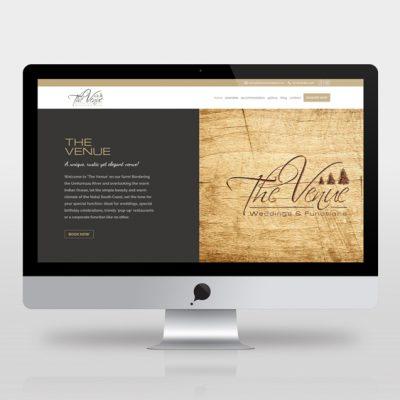 fishNET advertising Portfolio - Website Development - The Venue