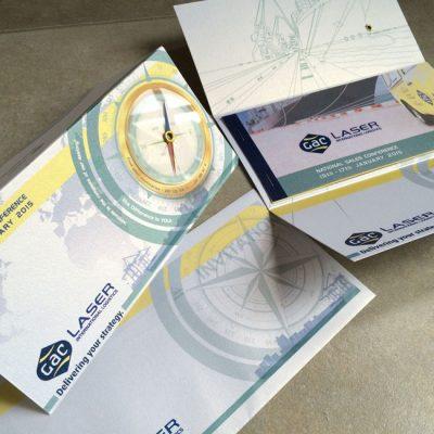 fishNET advertising Portfolio - Advertising & Design - GAC Laser Invitation