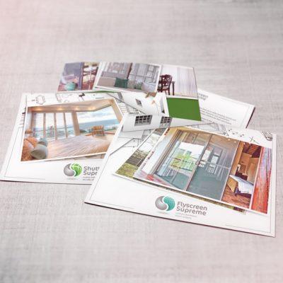 fishNET advertising Portfolio - Advertising & Design - House of Supreme Postcards